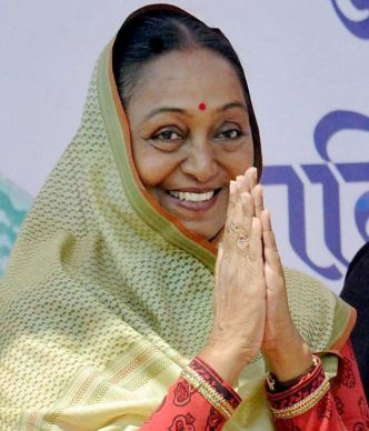 New Delhi: File photo of former Lok Sabha Speaker Meira Kumar who was announced as the Opposition's Presidential candidate on Thursday. PTI Photo (PTI6_22_2017_000157B)