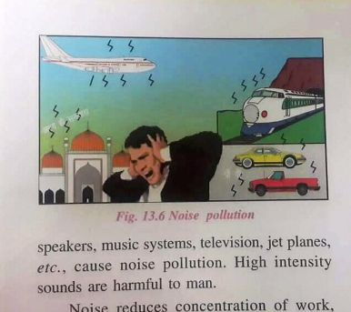 New Delhi : ICSE class 6 science textbook sparks row over picture depicting mosque as noise pollutant. (Pls co-relate with story DEL15)(PTI7_2_2017_000069B)